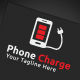 Phone Charge Logo - GraphicRiver Item for Sale