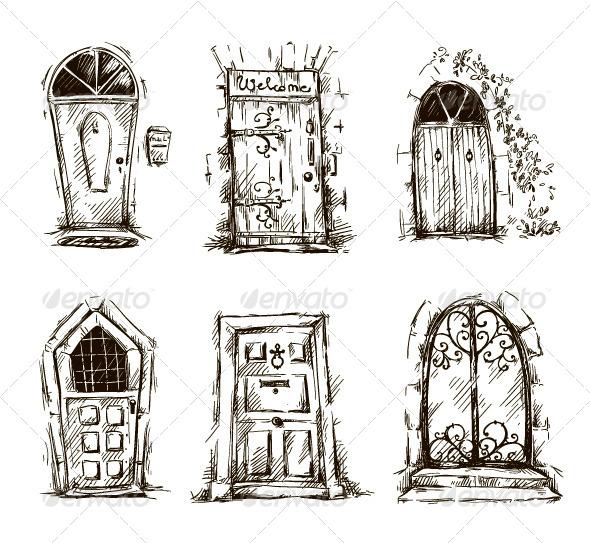 Door Doodles