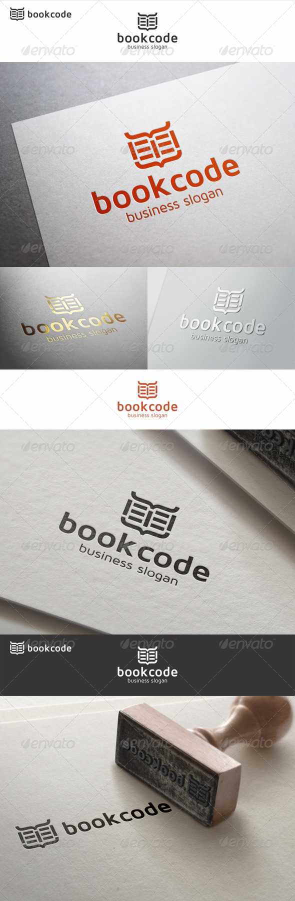 GraphicRiver Book Code Logo 7779965