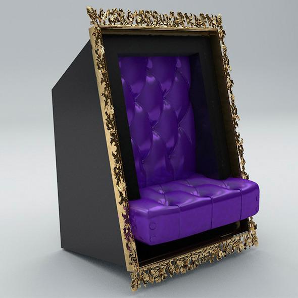 3DOcean Modern Armchair 7780850