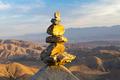 Pile of Stones in Desert Landscape - PhotoDune Item for Sale