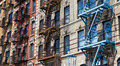 Row of Colorful Buildings in New York - PhotoDune Item for Sale