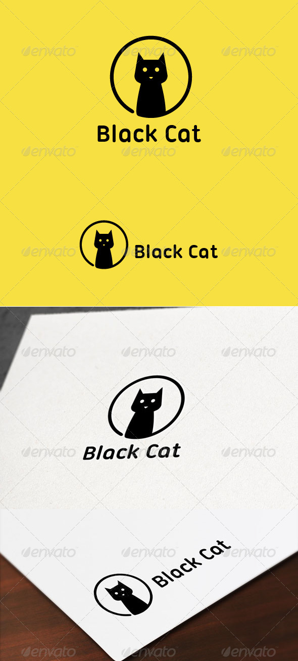 GraphicRiver Black Cat 7781195
