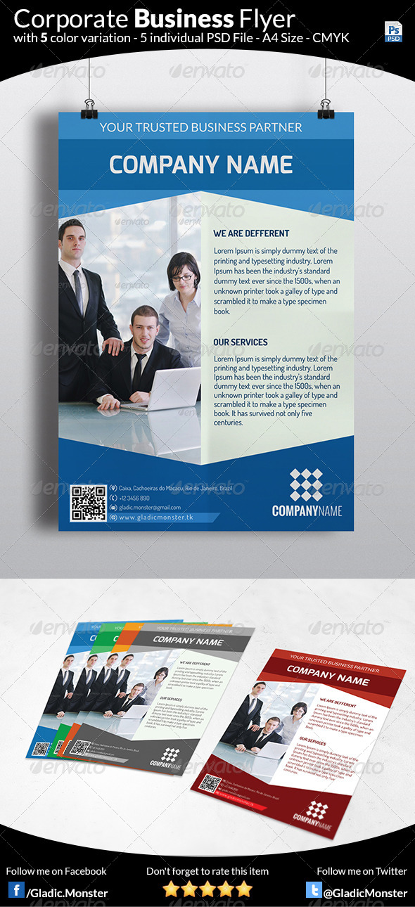GraphicRiver Business Flyer V2 6445960