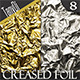 Creased Silver and Golden Foil - GraphicRiver Item for Sale