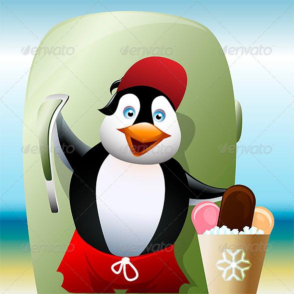 GraphicRiver The Seller of Ice Cream 7781462