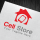 Cell Store Logo Template - GraphicRiver Item for Sale