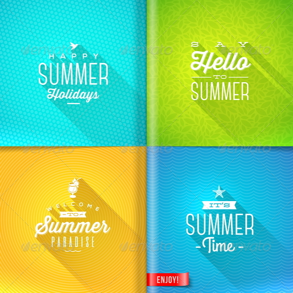 GraphicRiver Summer Holidays Design 7781921