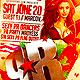 Puerto Rico Parade After party Flyer Template - GraphicRiver Item for Sale