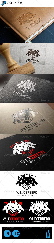 GraphicRiver Wild Cerbero Logo 7782074