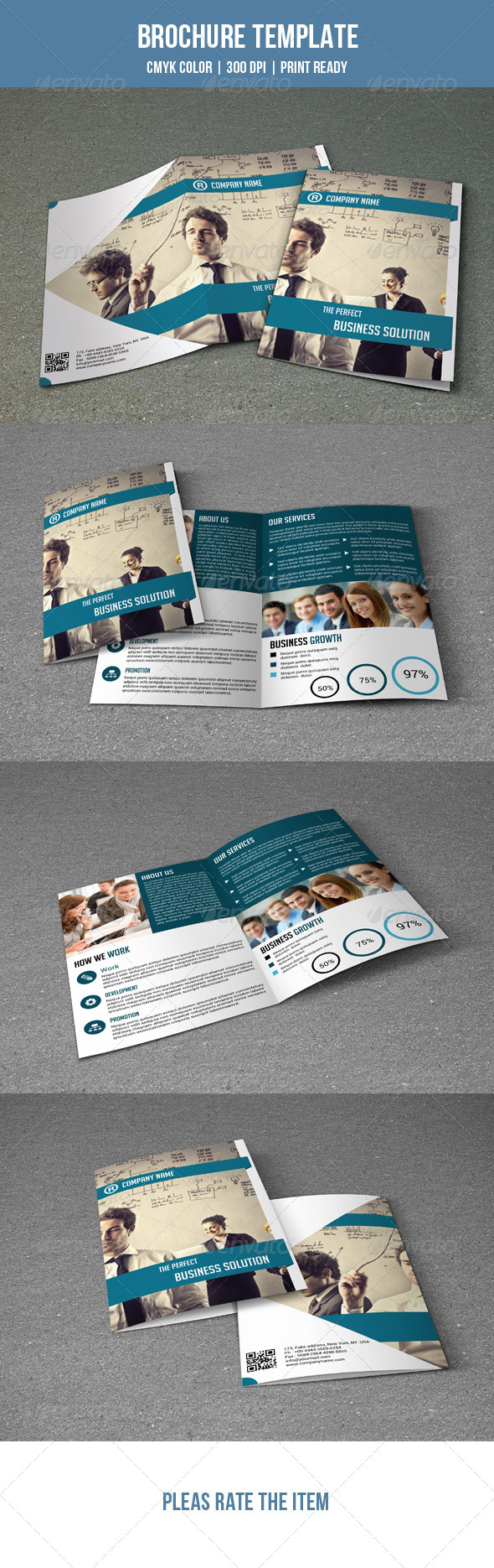 GraphicRiver Bifold Business Brochure-V08 7782250