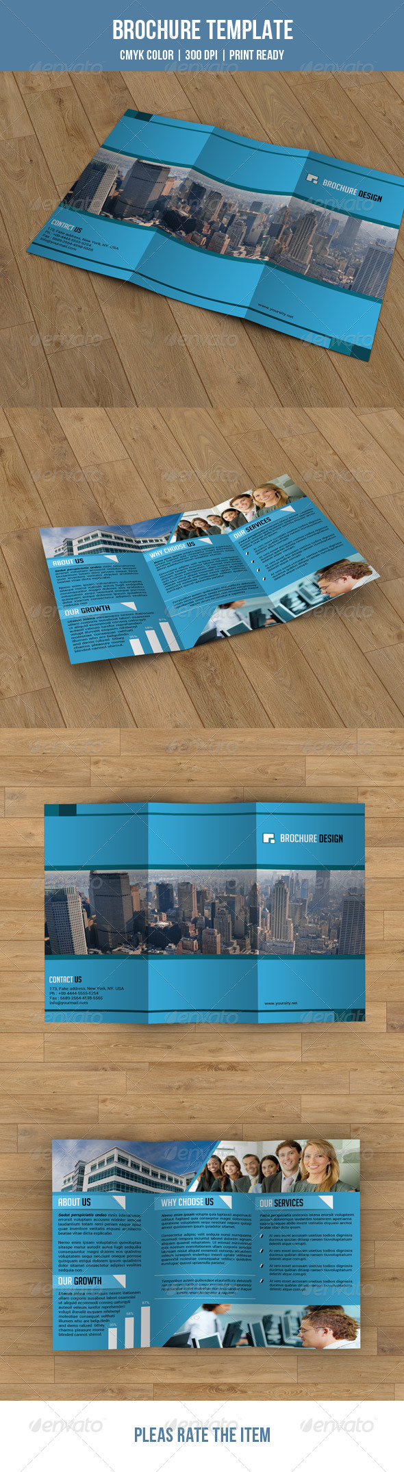 GraphicRiver Trifold Business Brochure-V06 7782261
