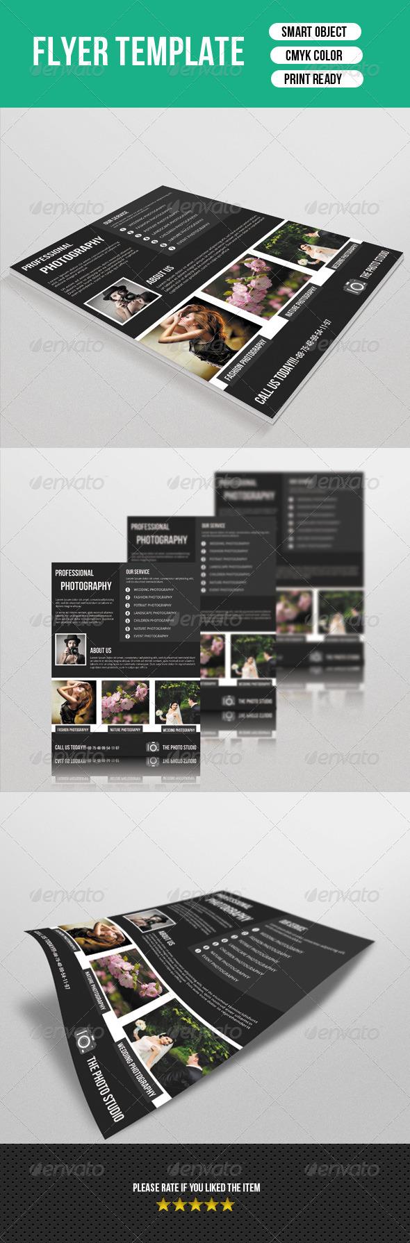 Photography Flyer Template-V14