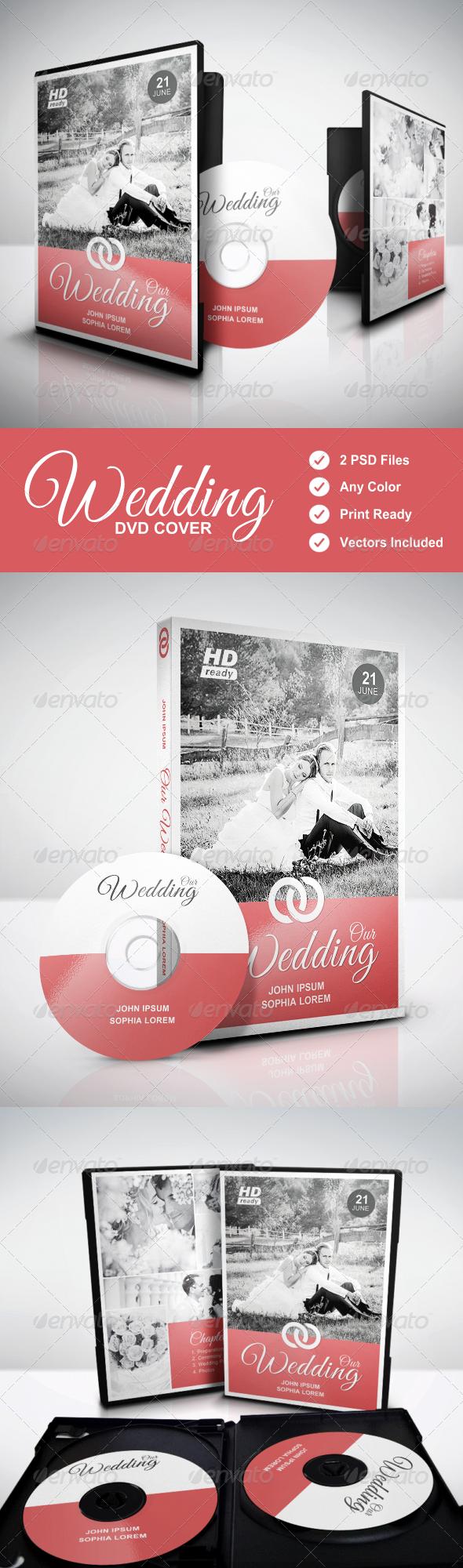 GraphicRiver Wedding DVD Cover vol.3 7782532