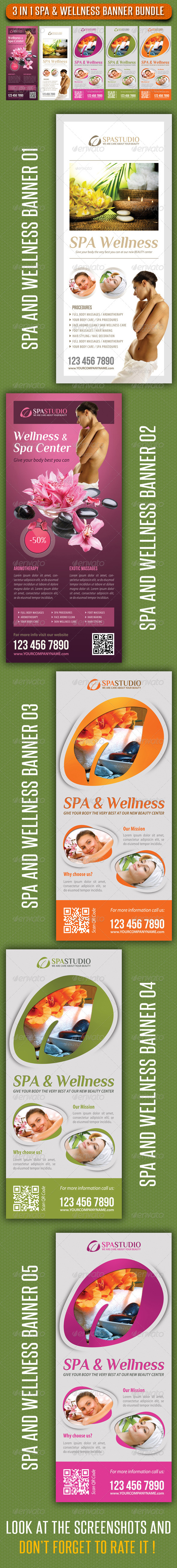 GraphicRiver 3 in 1 Spa Wellness Banner Bundle 06 7782537