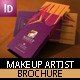 Makeup Artist Brochure Template - GraphicRiver Item for Sale