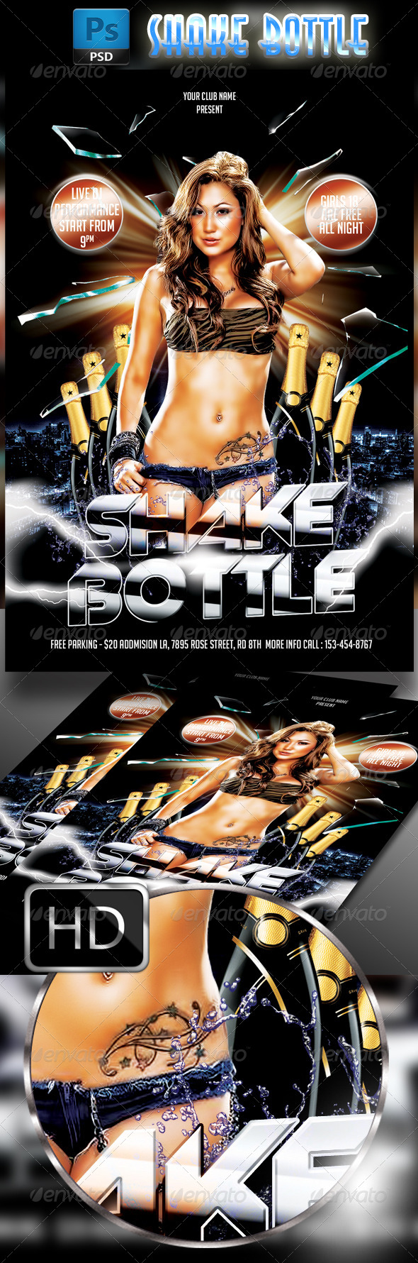 GraphicRiver Shake Bottle Party 7782612