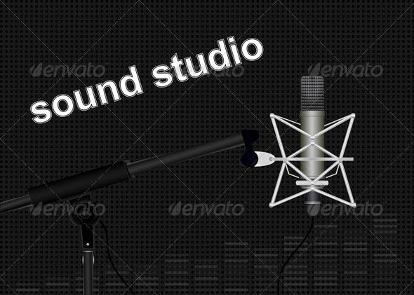 GraphicRiver Sound Studio 7782620