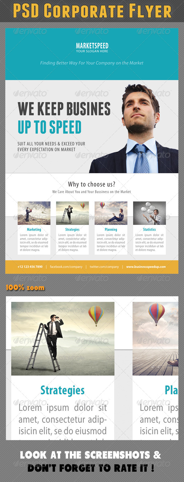 GraphicRiver Corporate Product Flyer 89 7783262