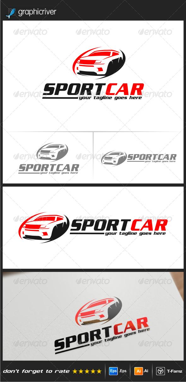 GraphicRiver Sportcar Logo 5199419