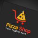 Pizza Shop Logo Template - GraphicRiver Item for Sale