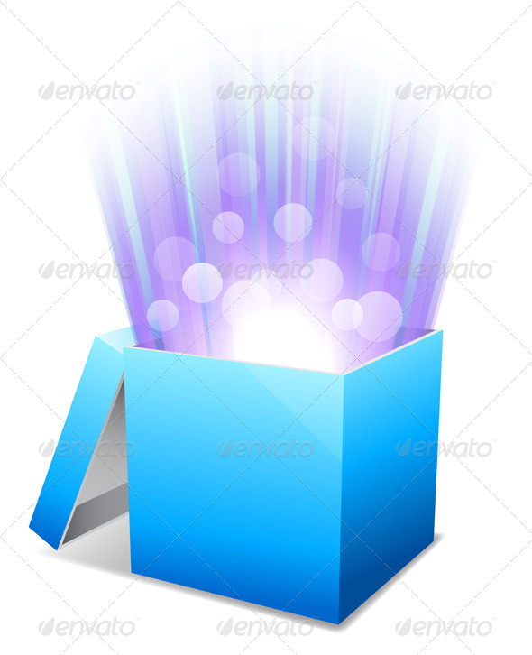 GraphicRiver Glowing Box 7783898