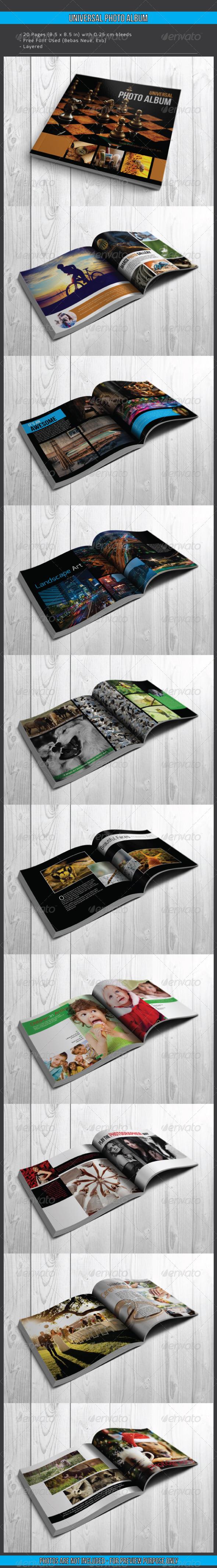 GraphicRiver Universal Photo Album 7784070