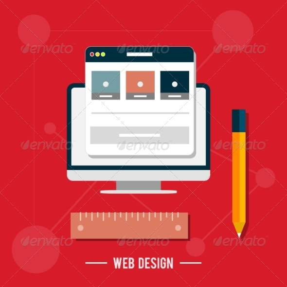 GraphicRiver Web Design Concept 7784214