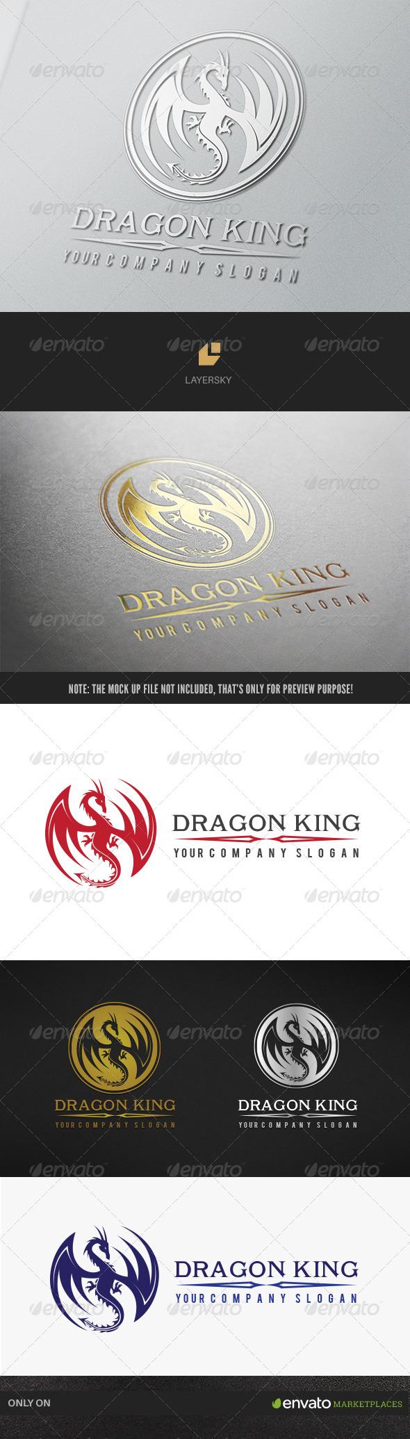 GraphicRiver Dragon King 7784262