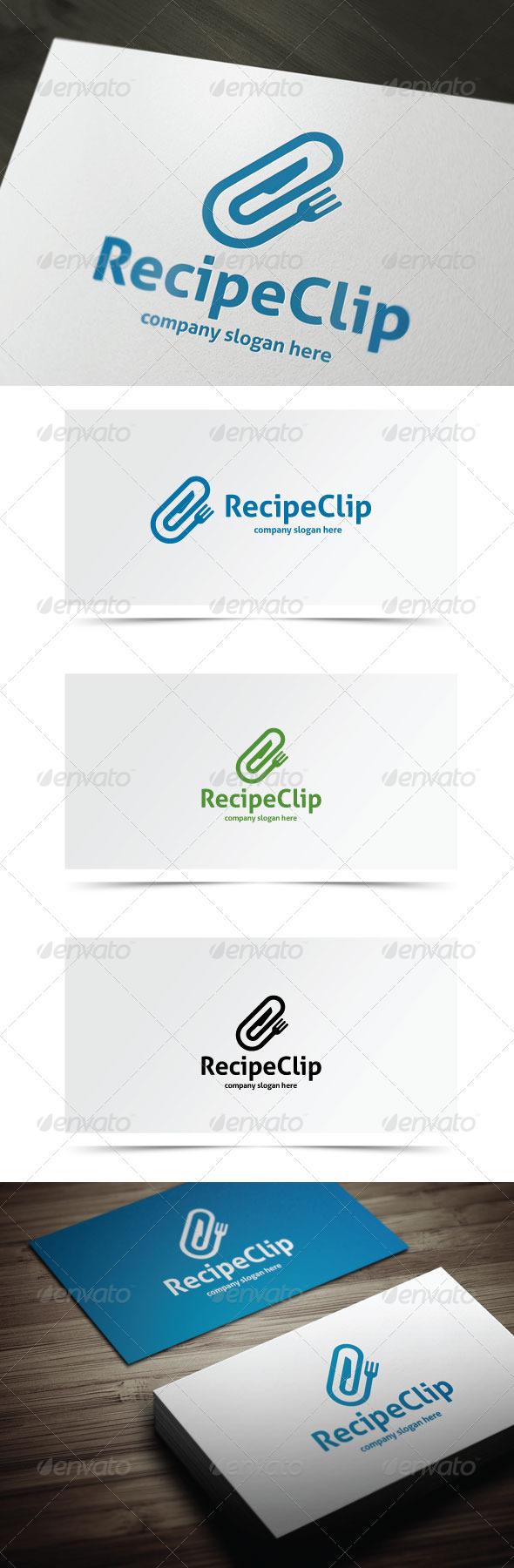 GraphicRiver Recipe Clip 7784360