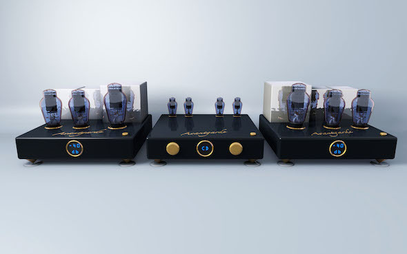 3DOcean Avantgarde High End Audio System 7784779
