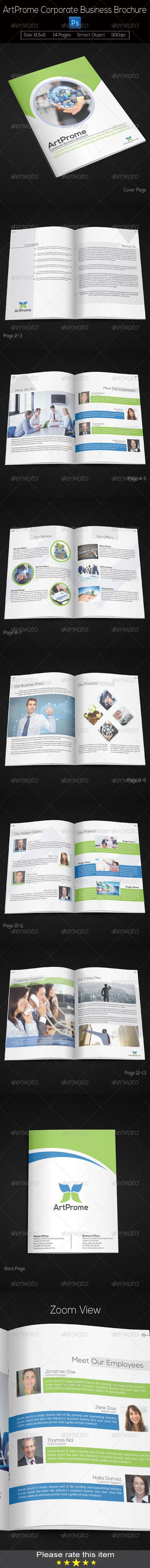 GraphicRiver Corporate Business Brochure 7785156