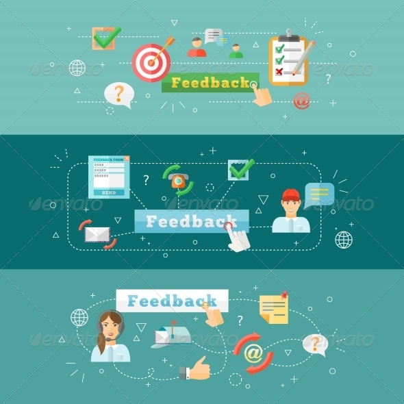 GraphicRiver Feedback Web Infographic 7785436