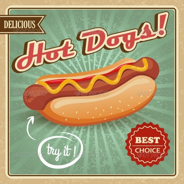 GraphicRiver Hot Dog Poster 7785442