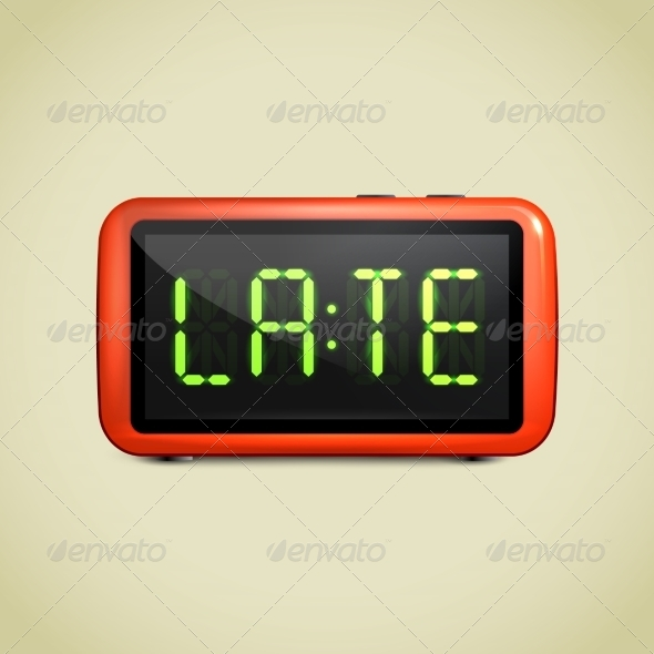 Digital Alarm Clock Wake Up
