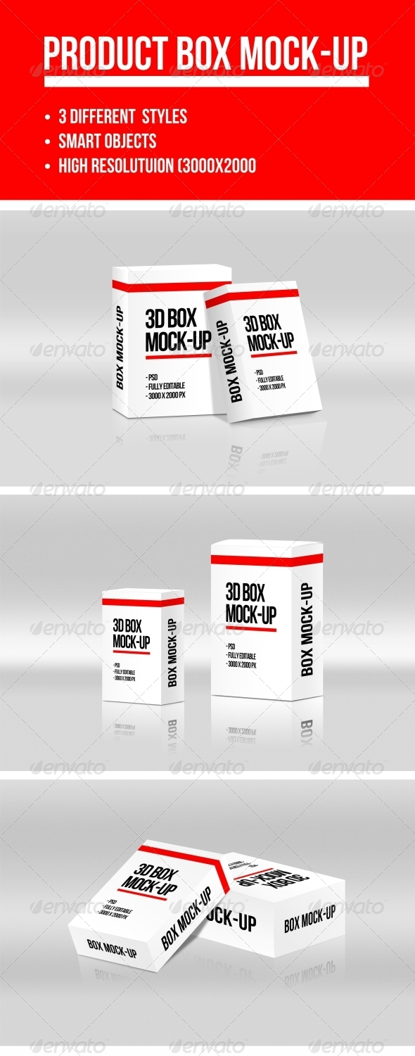 GraphicRiver Product Box Mock-up 7786086