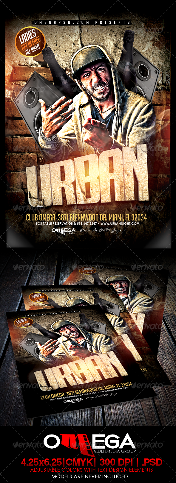 GraphicRiver Urban 7786128