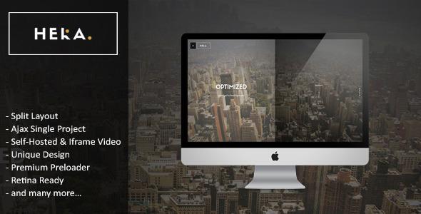 Hera - Responsive HTML 5 Template - Creative Site Templates
