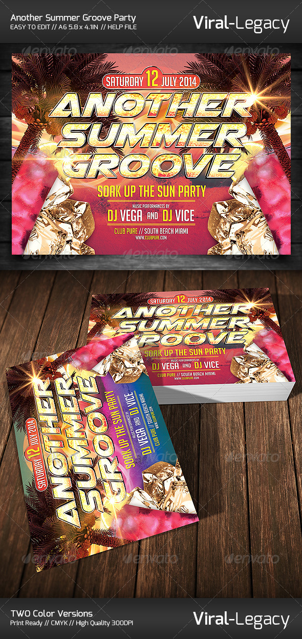 GraphicRiver Another Summer Groove Party 7786519