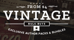 Exclusive Authors | Vintage Packs & Bundles