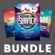 Summer Flyer Bundle Vol.04 - GraphicRiver Item for Sale