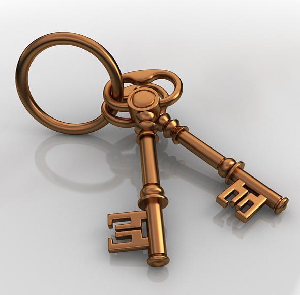 3DOcean Vintage Key 7788240