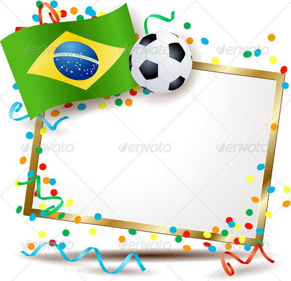 GraphicRiver Brazilian Soccer Themed Signboard 7745868