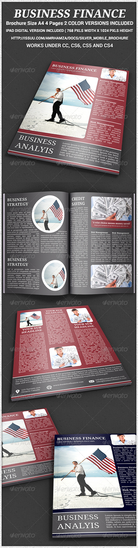 GraphicRiver Business Brochure Indesgin Template 7788480