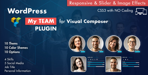 CodeCanyon Team Showcase for Visual Composer WordPress Plugin 7789129