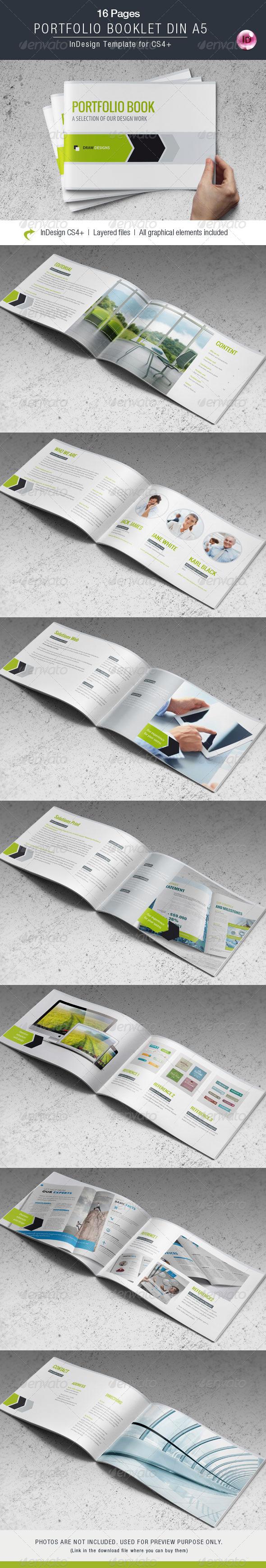 GraphicRiver Portfolio Booklet DIN A5 7789271