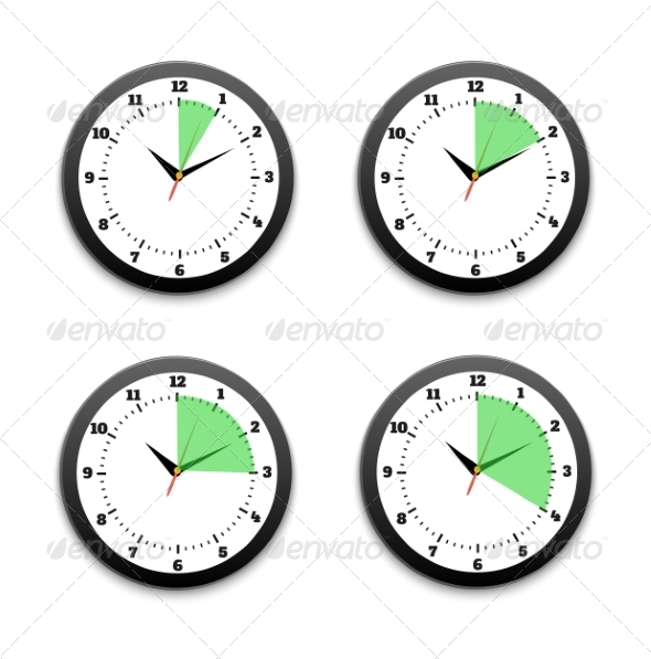 GraphicRiver Set of Timers 7789412