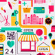 Creative Shopping Elements - GraphicRiver Item for Sale