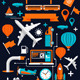Creative Transport Elements - GraphicRiver Item for Sale