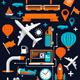 Creative Transport Elements - GraphicRiver Item for Sale